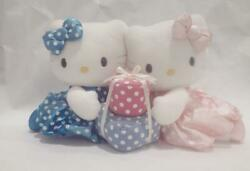 Sanrio Hello Kitty And Mimmy 28th 2002 Plush Toy Doll Stuffed Animal Used