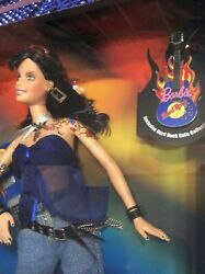 Tattoo Guitar Barbie Doll Hard Rock Cafe Pin 3 Special Edition 2005 J0963 Nrfb