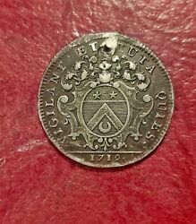 1719 Beaune Silver Jeton Gillet Maire Gad 1814 But In Silver Very Rare