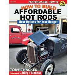 S-a Books How To Build Affits Fordable Hot Rods Pn Sa477