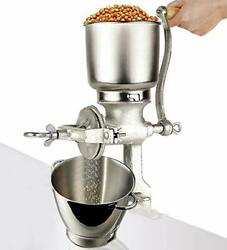 Moongiantgo Corn Grinder Mill Cast Iron Manual Grain Mill Hand Grinder With Larg
