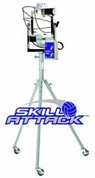 Skill Attack Volleyball Machine, An Individual Training Tool For Serve