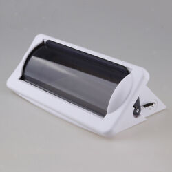 Plastic Marine Boat Waterproof Stereo Radio Housing Cover With Mount, White