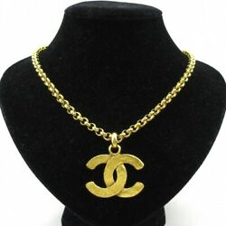 Necklace Coco Mark 29 Metal Material Gold 55cm Chain Women Accessories