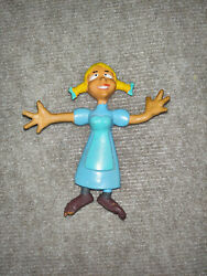 Rare Vintage Nell Fenwick 1972 Bendable Figure Jay Ward Dudley Do Right