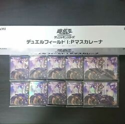 Yugioh Card Protector 100 Sleeves And Duel Field Ip Masquerena Playmat Set 遊戯王