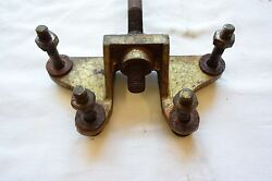 Century Resorter Wood Boat Front Lift Ring Mount Rod C-122 Bronze 1950and039s Wooden
