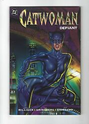 Catwoman Defiant 1 Graphic Novel, 1st Print, Signed By Giordano 9.6 Nm+ 1992 Dc