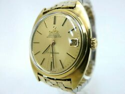 Excellent+++ Omega Constellation Men's Gold Plated Case Watch Cal.564 B