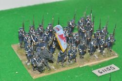 28mm Napoleonic / Prussian - Infantry Regt Part Plastic - Inf 61155