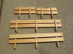 Metal Wagon Radio Flyer Town And Country Wooden Stake Sides Panels