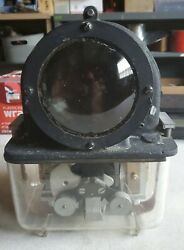 Union Switch And Signal Railroad D.c. Style H-2 Red Signal Light Works Well Usa