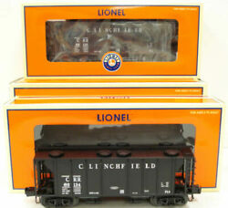 Lionel 6-11852 O Gauge Clinchfield 2-bay Ps-2 Covered Hopper Pack Of 2 Ln/box