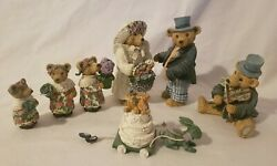 Lang And Wise Collectible Figurines Teddys And Toys Teddy Bears Nib Teddy's Wedding