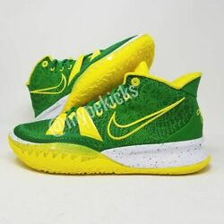 Rare Ds Nike Promo Kyrie 7 Oregon Ducks Pe Green Sz 11.5 Player Exclusives Shoes