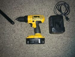 Dewalt Dc759 18v 2-speed 1/2 Drill Driver + Battery And Charger. Free Shipping