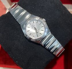 Omega Ladies Constellation Stainless Steel 12310246002002 Box And Papers 2012