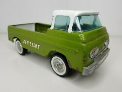 Nylint Green And White Pressed Steel Pickup Truck 1960s Vintage