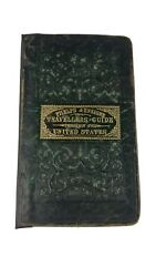 Phelps And Ensignand039s Travellerand039s Guide Through The United States 1838 W/ Map -pouch