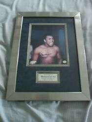 Muhammad Ali Autographed Signed Framed 15 X 20 1/2 Online Authentic