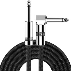 Guitar Cable 20 Ft New Bee Electric Instrument Cable Bass Amp Cord 1/4 Straight