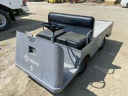 Used Taylor Dunn Industrial Flatbed Electric Utility Cart