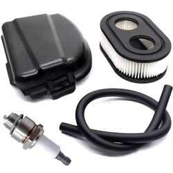 595658 594106 Air Cleaner Cover And 796112 Spark Plug W/tubing Compatible With Bs