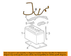 Toyota Oem-battery Cable 8212235a40