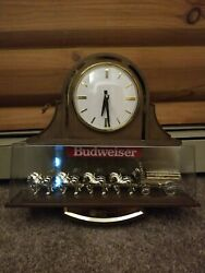 Vintage Budweiser Clydesdale Wall Clock - Brand New In The Packaging