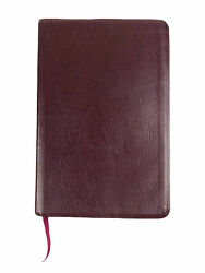 Red Holy Bible King James Version Soft Cover Bonded Leather Thomas Nelson 1999