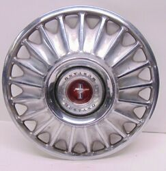 Set Of 4 1967 Ford Mustang Hubcaps 14'' Coupe Convertible Fastback Wire Spoke