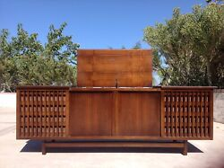 Mid Centuy Modern Stereo Console Philco