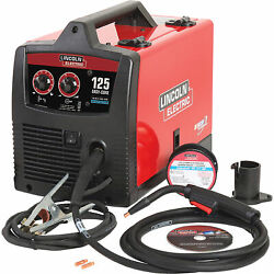 Lincoln Electric Easy Core 125 Flux-cored/mig Welder With Spool Gun - 120v,
