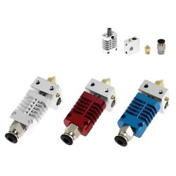Mk8 All Metal Extruder J-head Hot End For Ender 3 And Cr10 Series Red And Blue