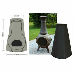 Patio Chiminea Cover Outside Garden Large Rain/snow/waterproof Protector Overlay