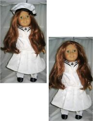 4th American Girl Doll Felicity Merriman Pleasant Middy Tam Retired Shoes Clothe
