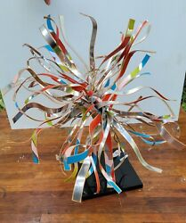 Dorothy Gillespie Signed And Numbered Aluminum Sculpture 1980s