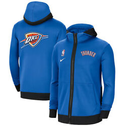 New Oklahoma City Thunder Nike Authentic Showtime Therma Flex Full-zip Hoodie