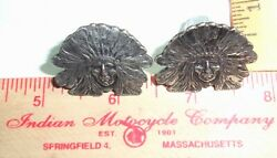 Indian Motorcycle License Plate Bolts Collectible Old Usa Mc Cycle Memorabilia
