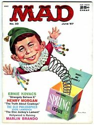 Mad Magazine 33 Fn 1957 Strict Grading /1 Day Shipping