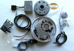 Powerdynamo Mz-b Vape Ignition Stator System For Puch 125t World War Ii Dc Sys