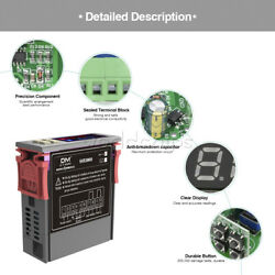 100x 10a Dc12-72v Sht2000 Humidity Hygrometer Thermostat Temperature Controller