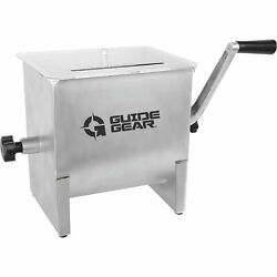 Guide Gear Stainless Steel Meat Mixer - 4.2-gallon, 17-lb. Capacity