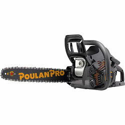 Poulan Pro Chainsaw - 16in. Bar, 40cc, 3/8in. Pitch, Model Pr4016