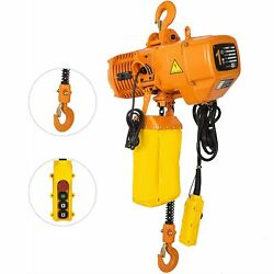 0.5/1ton 1 Phase 3m G80 Hook Industrial Electric Chain Hoist With Limit Switch