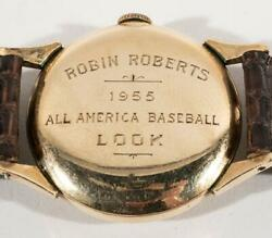 Robin Roberts Personal 1955 And039lookand039 Magazine Presentation All American Team Watch