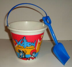 Vintage 1984 Voltron, Defender Of The Universe, Sand Bucket And Pail, 5 1/2