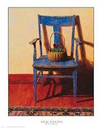 Ned Young Blue Chair Open Edition