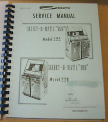 Seeburg 222 220 Jukebox Service Manual Pictures Parts Lists Diagrams Amr R-274