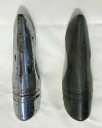 Vintage Bumper Grill Guard Similar Pair 30s 40s 50s Chevy Dodge Ford Hot Rat Rod